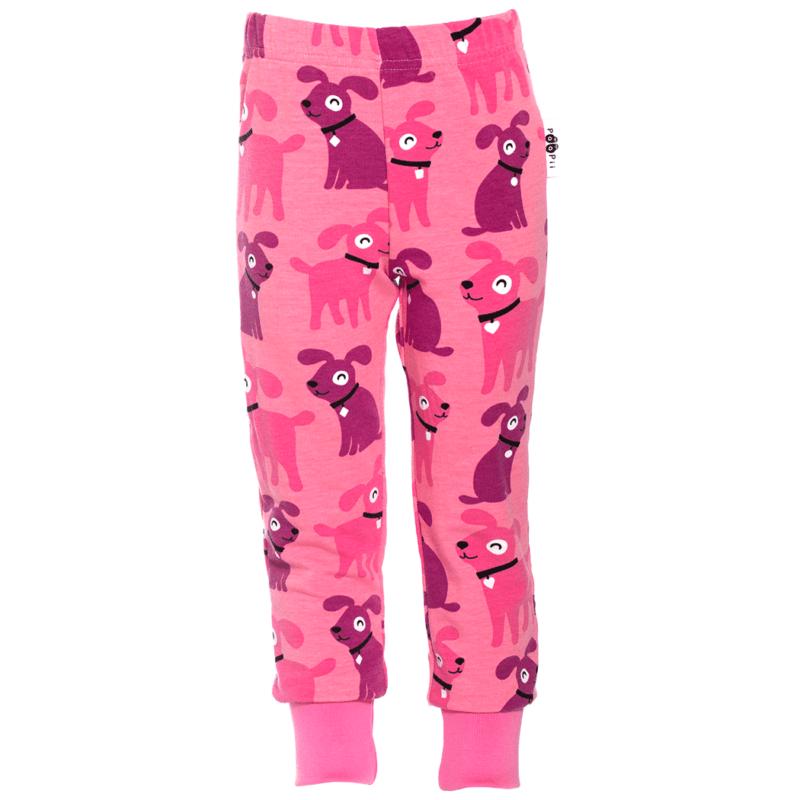 PaaPii design Rento joustocollegehousut Sesse vaaleanpunainen-pinkki