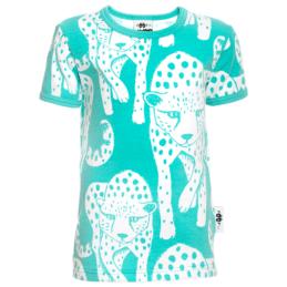 PaaPii Design VISA t-paita Gepardi turkoosi