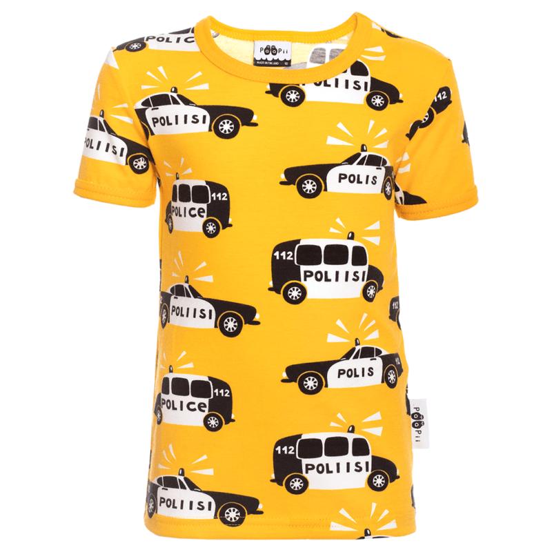 PaaPii Design VISA t-paita Poliisi aurinko