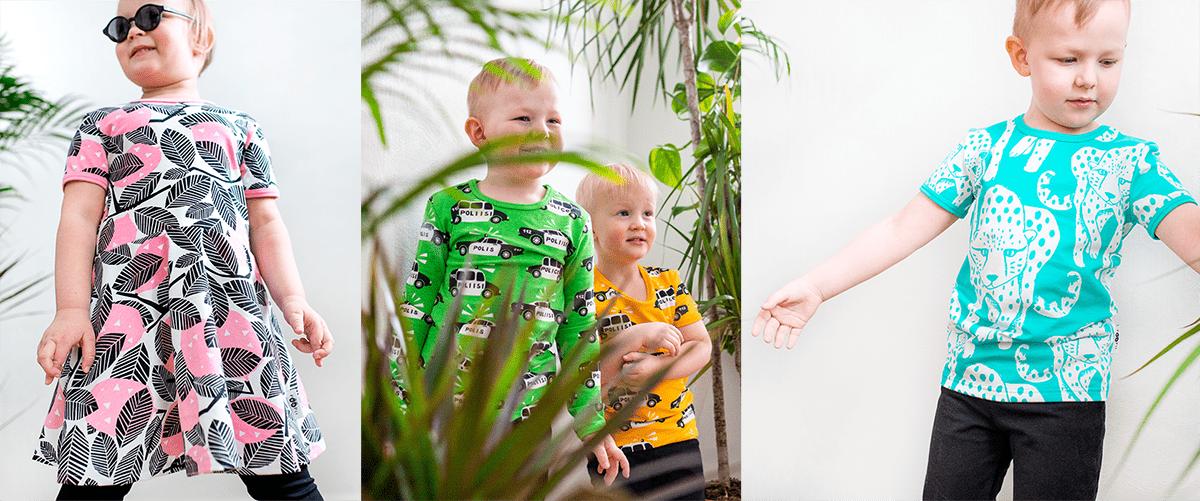 PaaPii Design lasten kesämallisto 2021