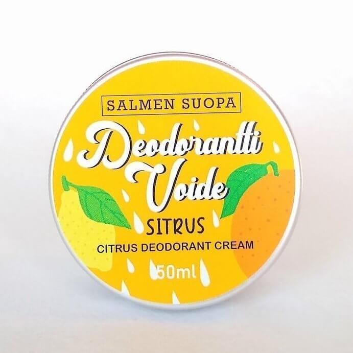 Salmen Suopa Deodoranttivoide sitrus 50 ml