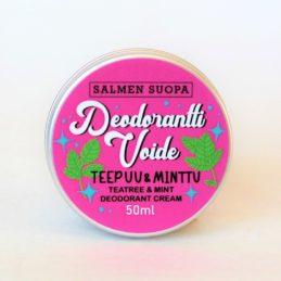 Salmen Suopa Deodoranttivoide teepuu & minttu 50 ml