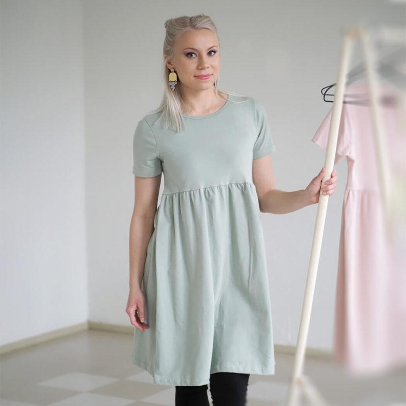 Kanto Design Lilja mekko oliivi