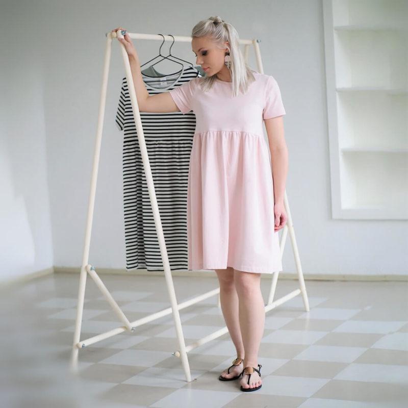 Kanto Design Lilja mekko roosa