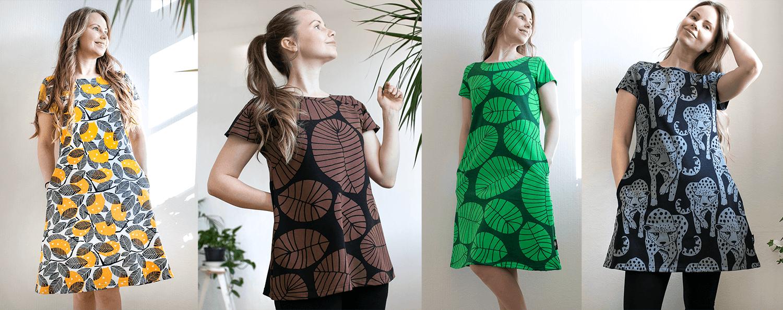 PaaPii Design naisten kesämallisto 2021