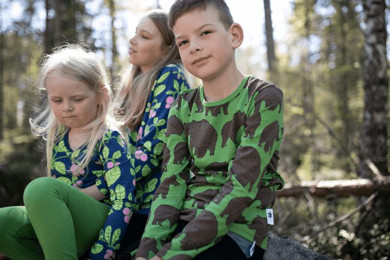 PaaPii Design Nooa paita Ursa metsä-suklaa 3