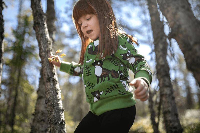 PaaPii Design Retki huppari Nuutti metsä-ruoste 1