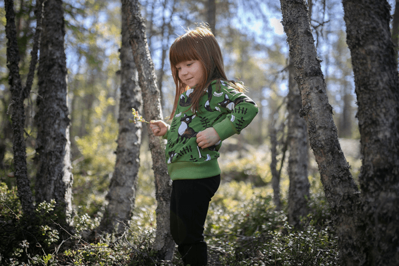 PaaPii Design Retki huppari Nuutti metsä-ruoste 3