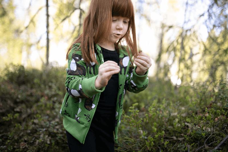 PaaPii Design Retki huppari Nuutti metsä-ruoste 9