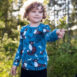 PaaPii Design Uljas paita Nuutti petrooli-ruoste 1