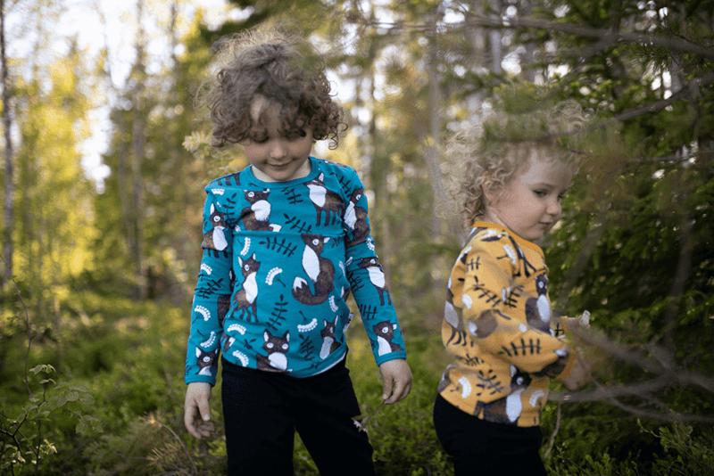 PaaPii Design Uljas paita Nuutti petrooli-ruoste 3