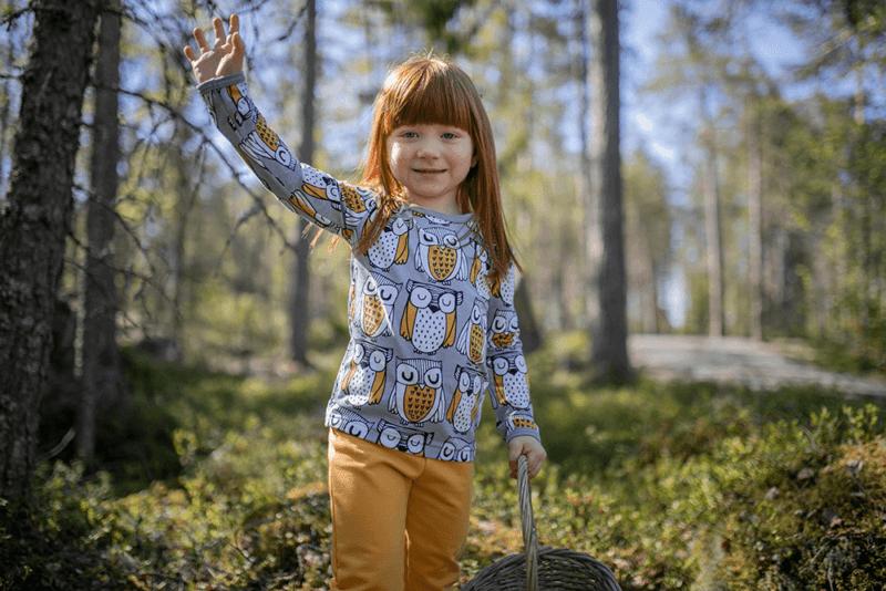 PaaPii Design Uljas paita Parlamentti harmaa-okra 12