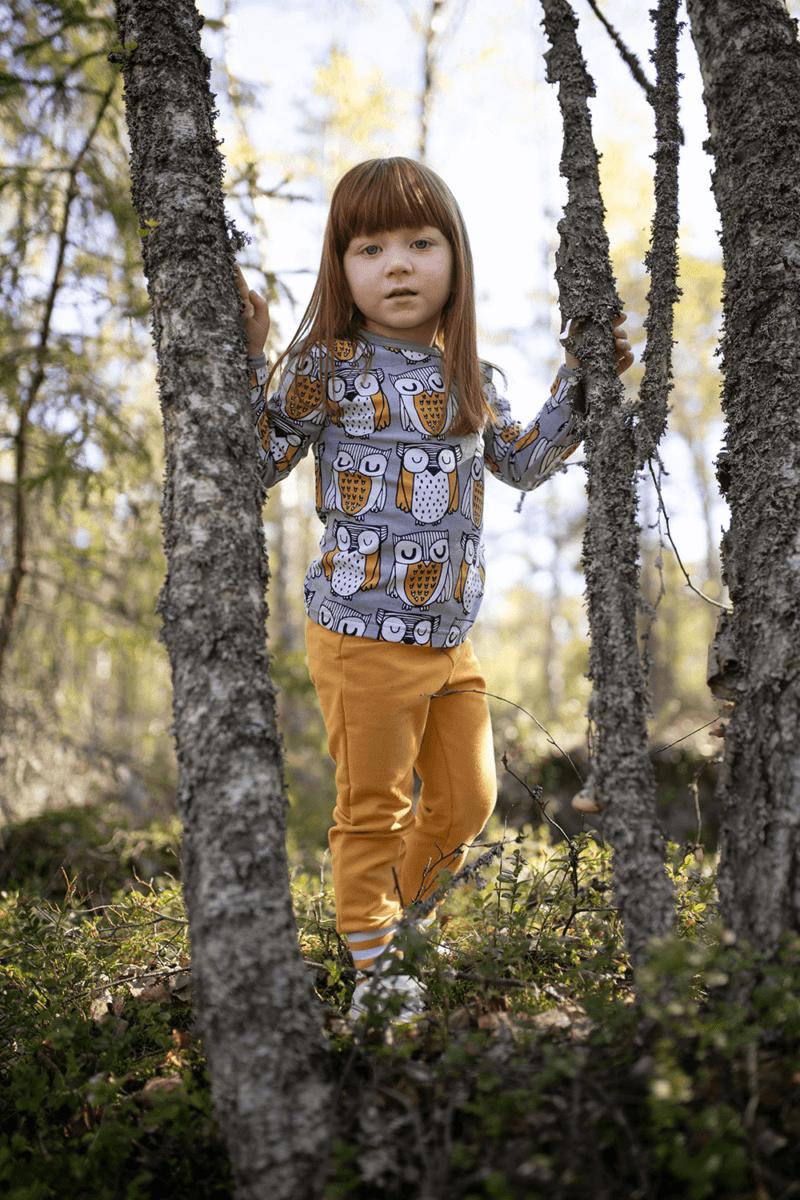 PaaPii Design Uljas paita Parlamentti harmaa-okra 14