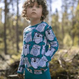 PaaPii Design Uljas paita Parlamentti petrooli-vaaleansininen 1