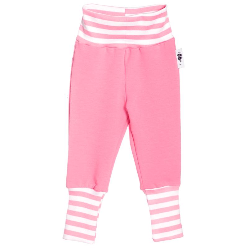 PaaPii Design Baby Sisu joustocollegehousut vaaleanpunainen