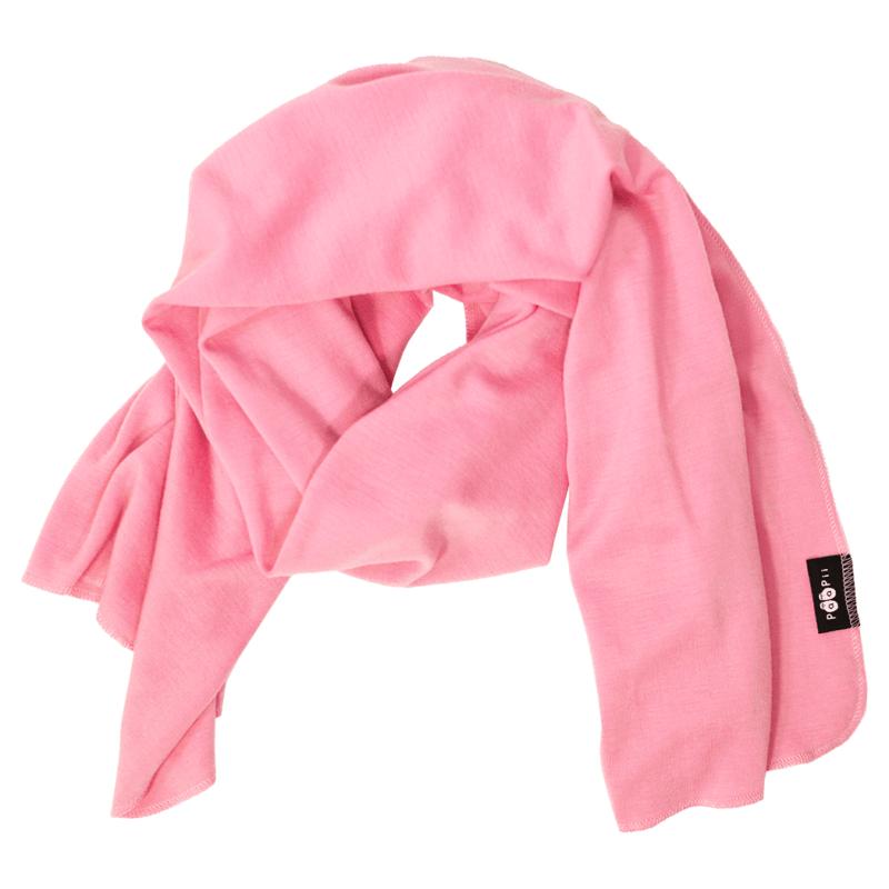 PaaPii Design Merinovillakaulahuivi vaaleanpunainen