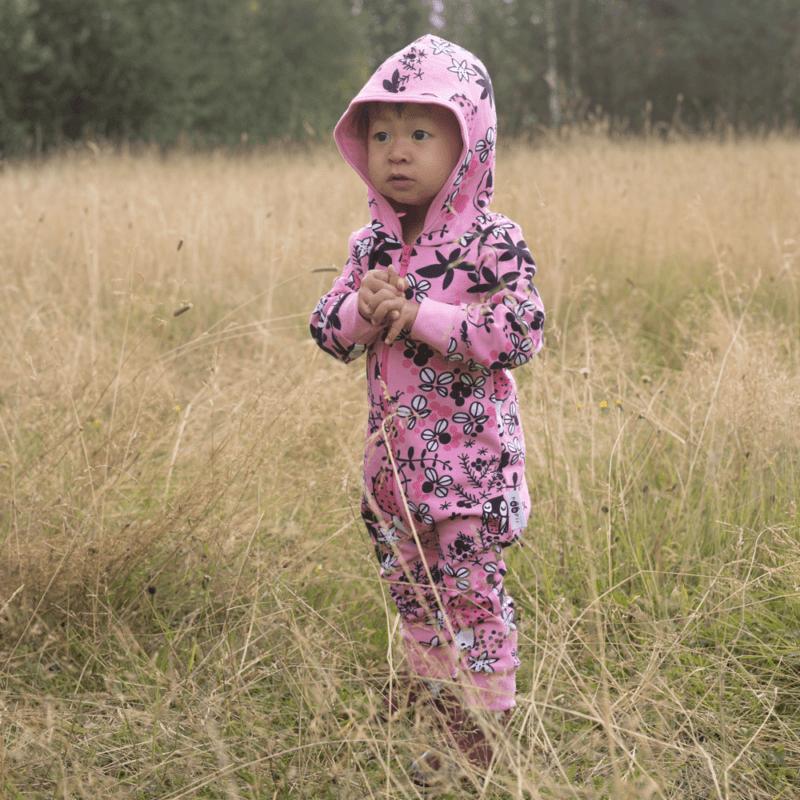 PaaPii Design Riemu collegehaalari Sammalpolku vaaleanpunainen-pinkki 8