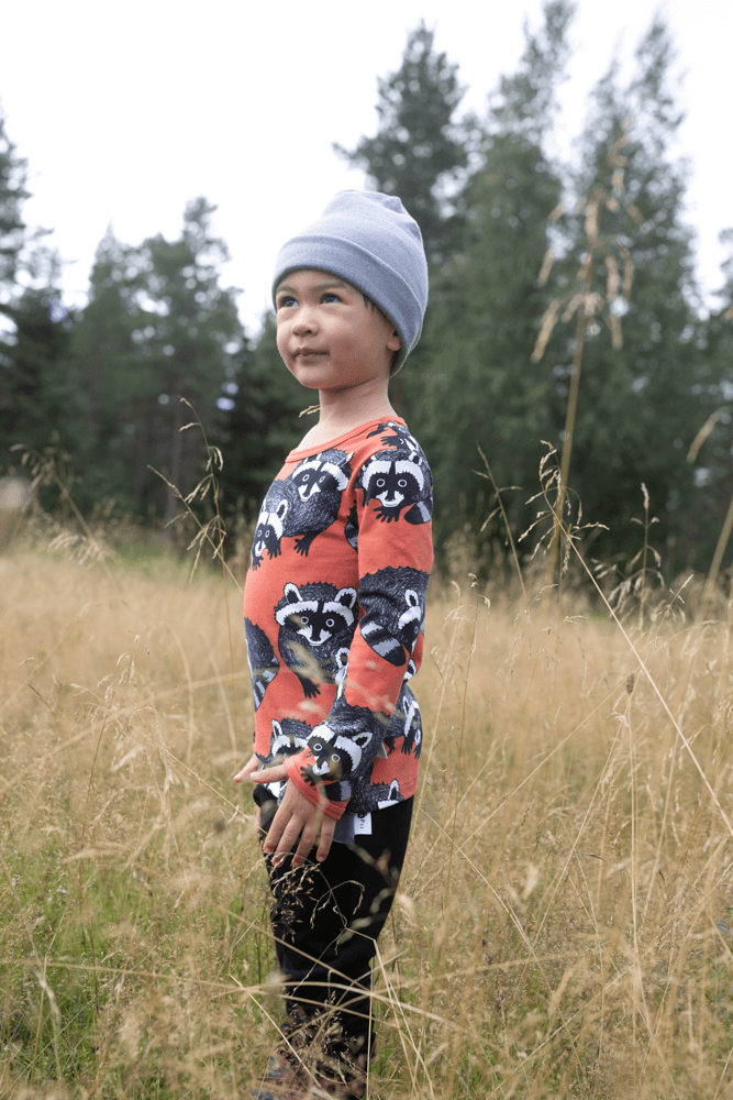 PaaPii Design Uljas paita Pesukarhu ruoste-harmaa 10
