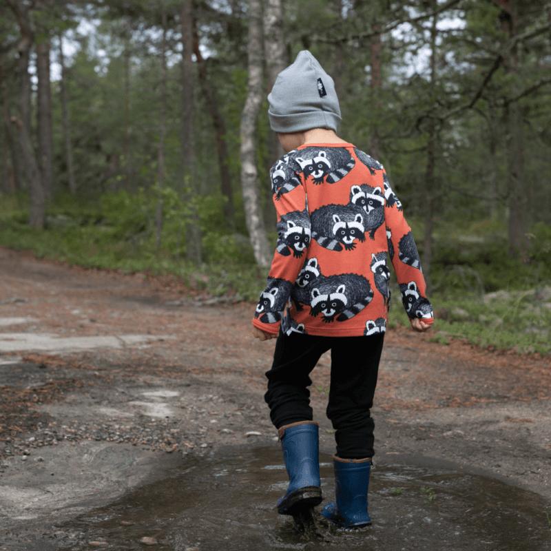 PaaPii Design Uljas paita Pesukarhu ruoste-harmaa 2