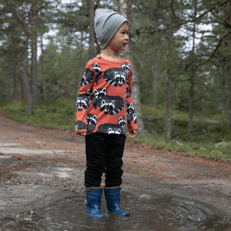 PaaPii Design Uljas paita Pesukarhu ruoste-harmaa 3