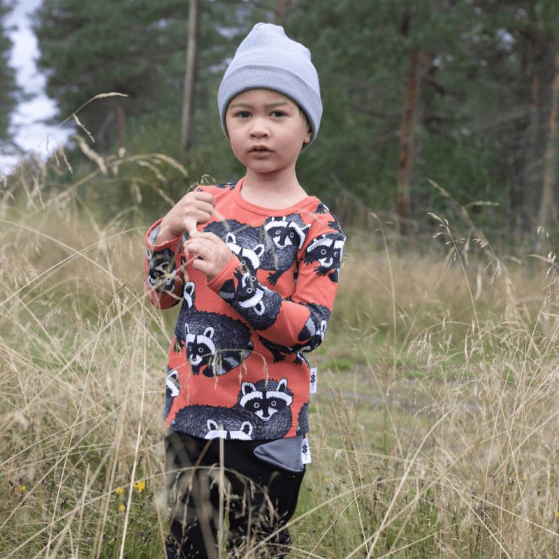 PaaPii Design Uljas paita Pesukarhu ruoste-harmaa 7