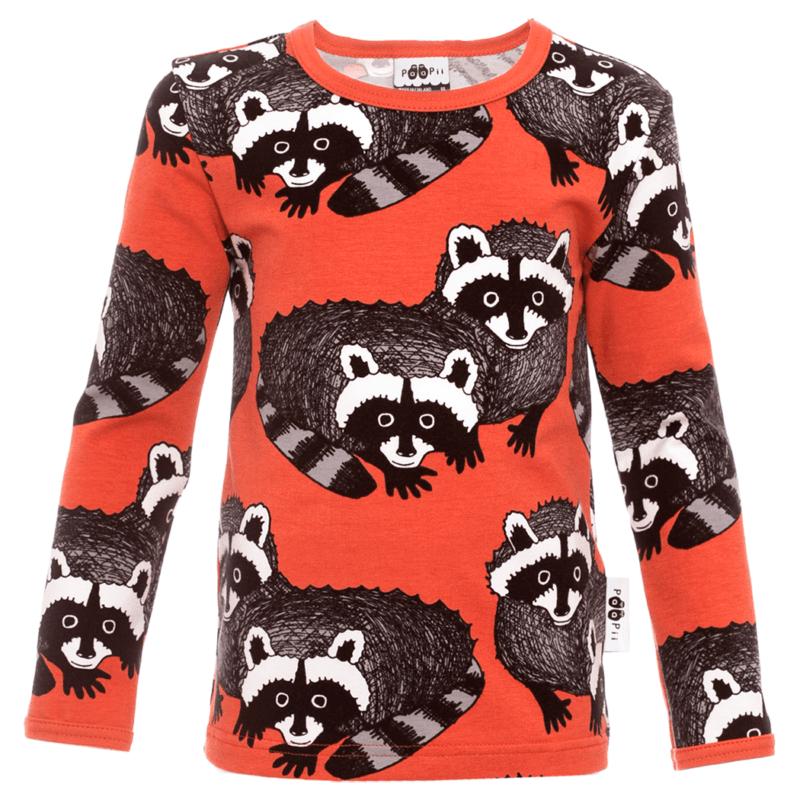 PaaPii Design Uljas paita Pesukarhu ruoste-harmaa