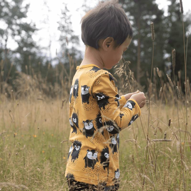 PaaPii Design Uljas paita Siiri & Myyry okra 3