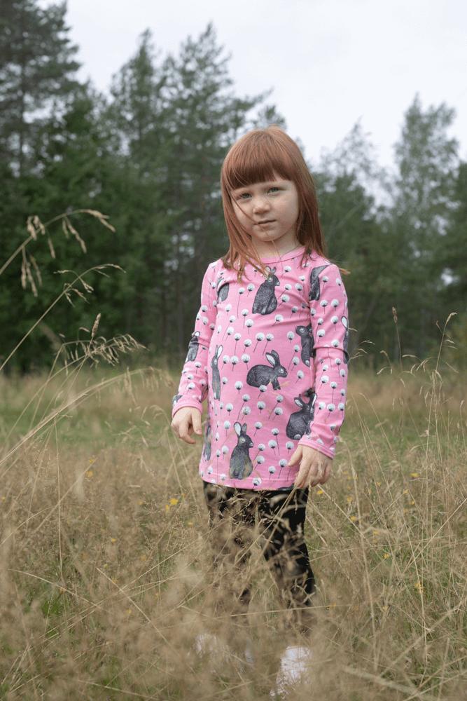 PaaPii Design Vieno tunika Elli vaaleanpunainen-harmaa 3