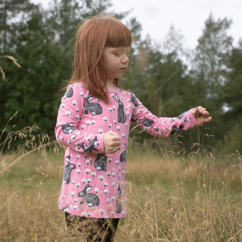 PaaPii Design Vieno tunika Elli vaaleanpunainen-harmaa 5