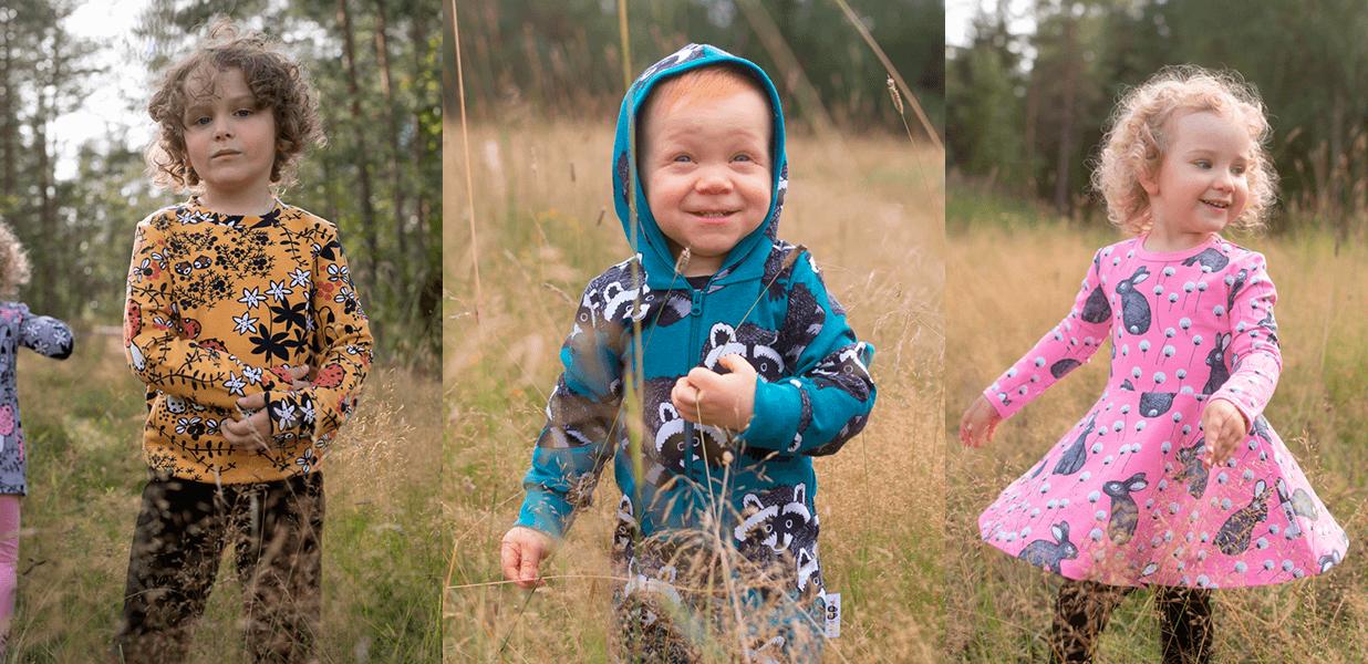 PaaPii Design lastenvaatemallisto talvi 2021