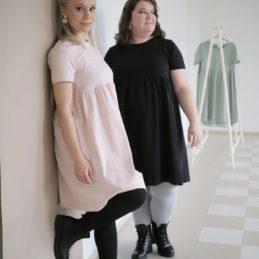 Kanto Design Siro legginsit harmaa ja musta